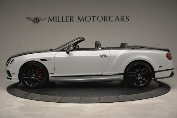 New 2018 Bentley Continental GT Supersports Convertible for sale Sold at Rolls-Royce Motor Cars Greenwich in Greenwich CT 06830 3