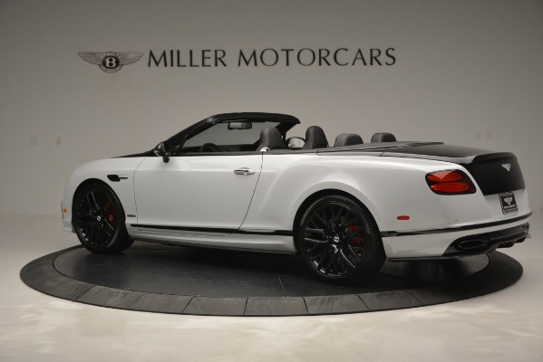 New 2018 Bentley Continental GT Supersports Convertible for sale Sold at Rolls-Royce Motor Cars Greenwich in Greenwich CT 06830 4