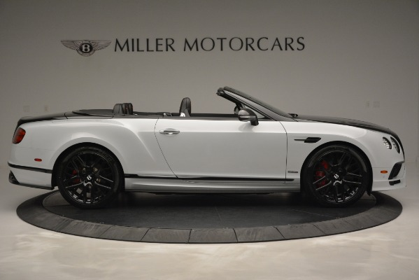 New 2018 Bentley Continental GT Supersports Convertible for sale Sold at Rolls-Royce Motor Cars Greenwich in Greenwich CT 06830 9