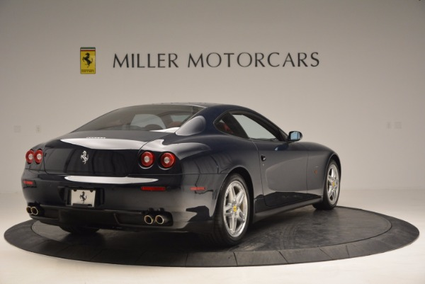 Used 2005 Ferrari 612 Scaglietti 6-Speed Manual for sale Sold at Rolls-Royce Motor Cars Greenwich in Greenwich CT 06830 8