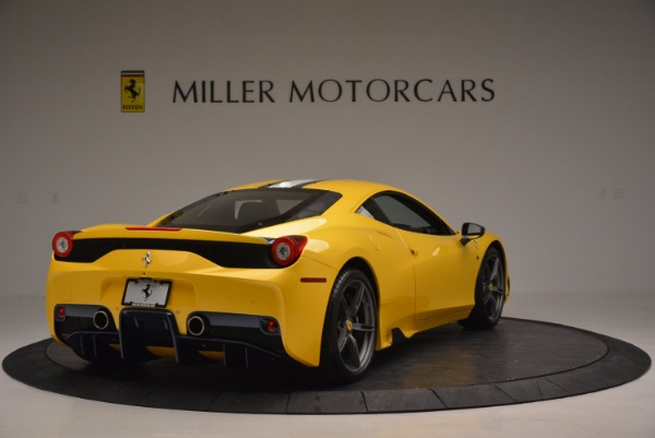 Used 2015 Ferrari 458 Speciale for sale Sold at Rolls-Royce Motor Cars Greenwich in Greenwich CT 06830 7