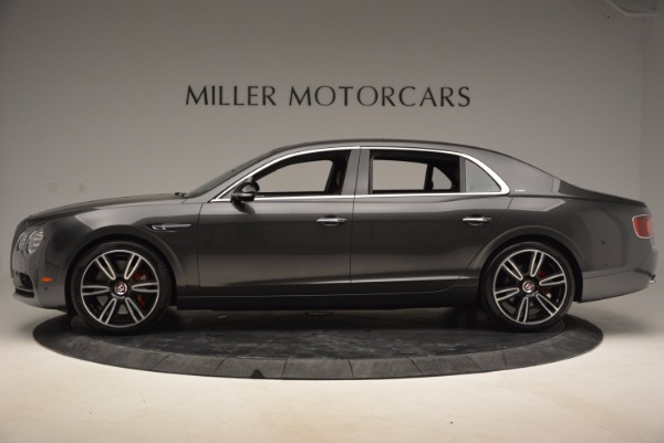 Used 2017 Bentley Flying Spur V8 S for sale Sold at Rolls-Royce Motor Cars Greenwich in Greenwich CT 06830 3