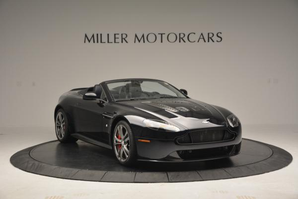 Used 2016 Aston Martin V12 Vantage S Convertible for sale $128,900 at Rolls-Royce Motor Cars Greenwich in Greenwich CT 06830 11