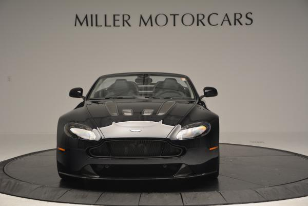 Used 2016 Aston Martin V12 Vantage S Convertible for sale $119,900 at Rolls-Royce Motor Cars Greenwich in Greenwich CT 06830 12