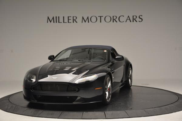 Used 2016 Aston Martin V12 Vantage S Convertible for sale $128,900 at Rolls-Royce Motor Cars Greenwich in Greenwich CT 06830 13