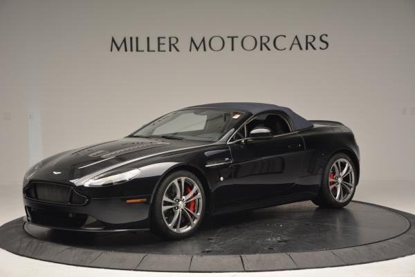 Used 2016 Aston Martin V12 Vantage S Convertible for sale $128,900 at Rolls-Royce Motor Cars Greenwich in Greenwich CT 06830 14