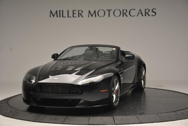Used 2016 Aston Martin V12 Vantage S Convertible for sale $128,900 at Rolls-Royce Motor Cars Greenwich in Greenwich CT 06830 2