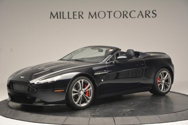 Used 2016 Aston Martin V12 Vantage S Convertible for sale $119,900 at Rolls-Royce Motor Cars Greenwich in Greenwich CT 06830 1
