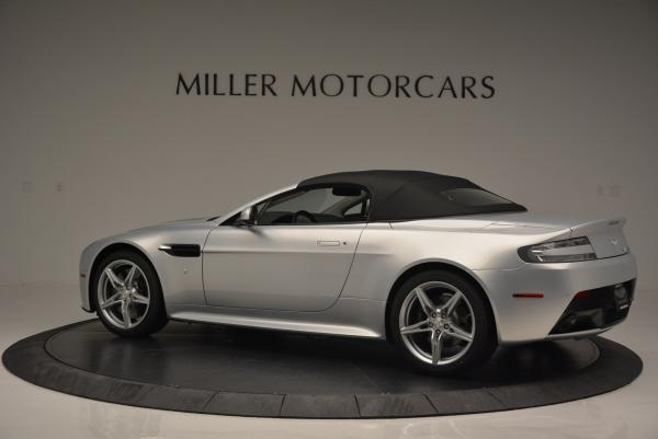 New 2016 Aston Martin V8 Vantage GTS Roadster for sale Sold at Rolls-Royce Motor Cars Greenwich in Greenwich CT 06830 15