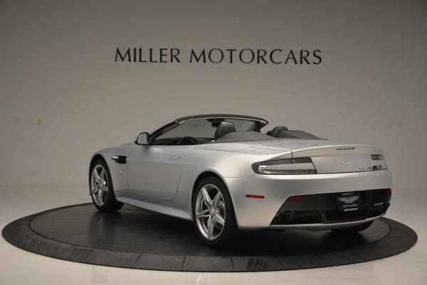 New 2016 Aston Martin V8 Vantage GTS Roadster for sale Sold at Rolls-Royce Motor Cars Greenwich in Greenwich CT 06830 5