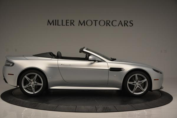 New 2016 Aston Martin V8 Vantage GTS Roadster for sale Sold at Rolls-Royce Motor Cars Greenwich in Greenwich CT 06830 9