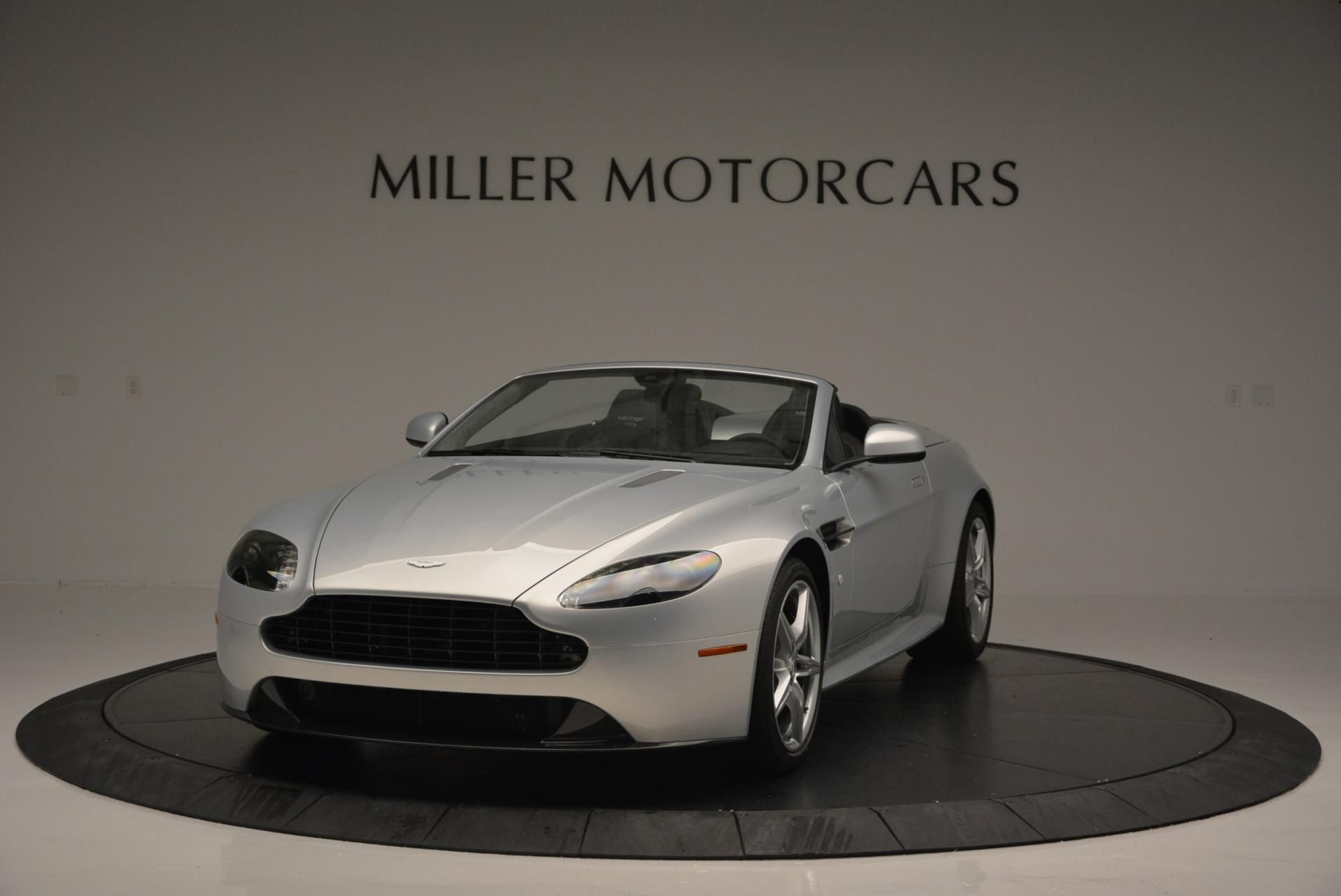 New 2016 Aston Martin V8 Vantage GTS Roadster for sale Sold at Rolls-Royce Motor Cars Greenwich in Greenwich CT 06830 1