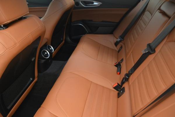New 2018 Alfa Romeo Giulia Ti Sport Q4 for sale Sold at Rolls-Royce Motor Cars Greenwich in Greenwich CT 06830 17