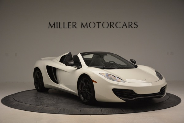 Used 2014 McLaren MP4-12C Spider for sale Sold at Rolls-Royce Motor Cars Greenwich in Greenwich CT 06830 11