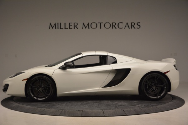 Used 2014 McLaren MP4-12C Spider for sale Sold at Rolls-Royce Motor Cars Greenwich in Greenwich CT 06830 15