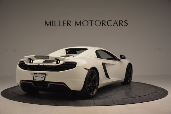 Used 2014 McLaren MP4-12C Spider for sale Sold at Rolls-Royce Motor Cars Greenwich in Greenwich CT 06830 18