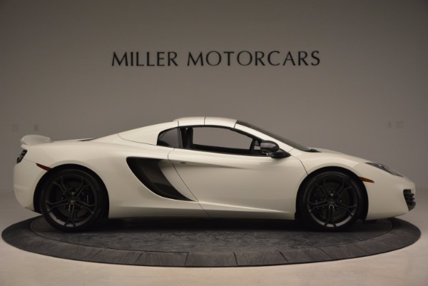 Used 2014 McLaren MP4-12C Spider for sale Sold at Rolls-Royce Motor Cars Greenwich in Greenwich CT 06830 19