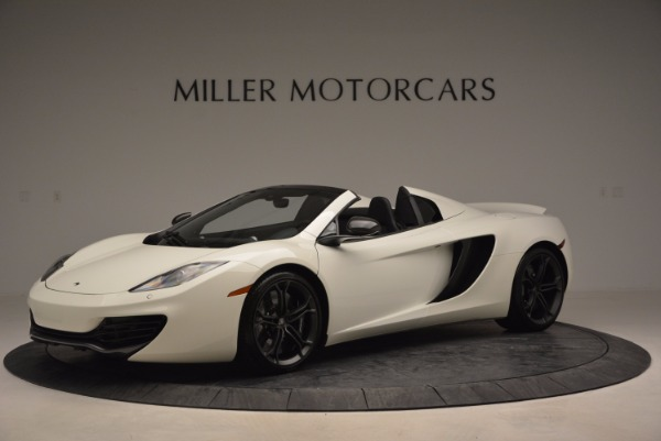 Used 2014 McLaren MP4-12C Spider for sale Sold at Rolls-Royce Motor Cars Greenwich in Greenwich CT 06830 2