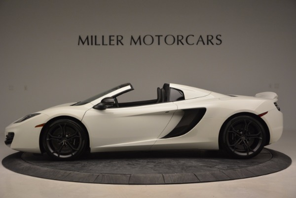 Used 2014 McLaren MP4-12C Spider for sale Sold at Rolls-Royce Motor Cars Greenwich in Greenwich CT 06830 3