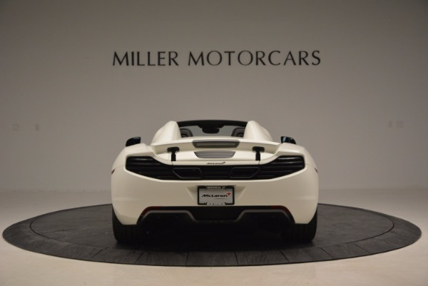 Used 2014 McLaren MP4-12C Spider for sale Sold at Rolls-Royce Motor Cars Greenwich in Greenwich CT 06830 6