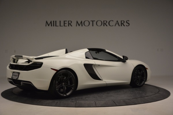 Used 2014 McLaren MP4-12C Spider for sale Sold at Rolls-Royce Motor Cars Greenwich in Greenwich CT 06830 8