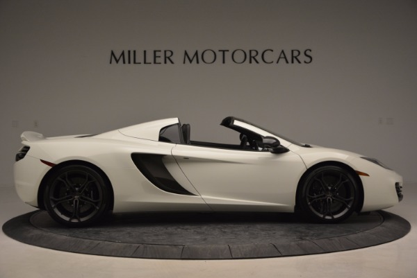 Used 2014 McLaren MP4-12C Spider for sale Sold at Rolls-Royce Motor Cars Greenwich in Greenwich CT 06830 9