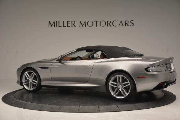 New 2016 Aston Martin DB9 GT Volante for sale Sold at Rolls-Royce Motor Cars Greenwich in Greenwich CT 06830 16