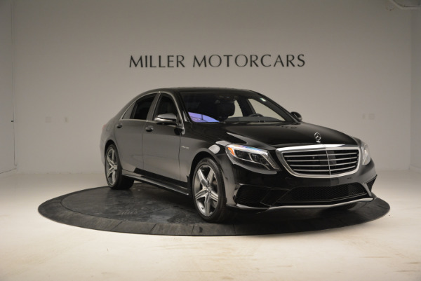 Used 2014 Mercedes Benz S-Class S 63 AMG for sale Sold at Rolls-Royce Motor Cars Greenwich in Greenwich CT 06830 11