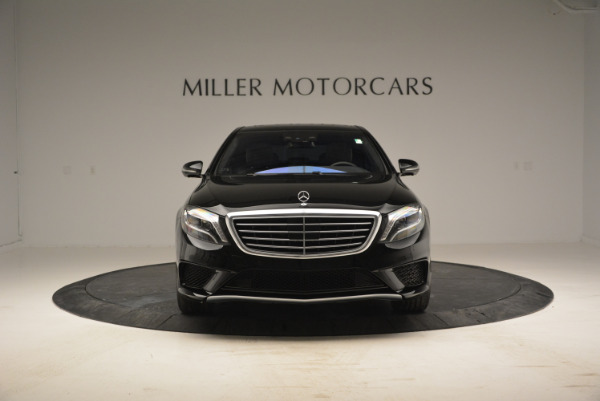 Used 2014 Mercedes Benz S-Class S 63 AMG for sale Sold at Rolls-Royce Motor Cars Greenwich in Greenwich CT 06830 12