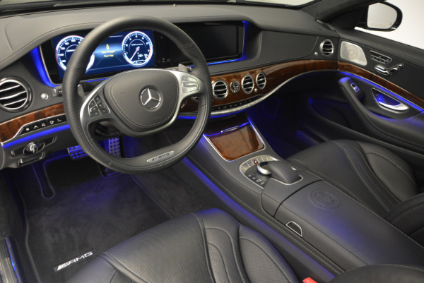 Used 2014 Mercedes Benz S-Class S 63 AMG for sale Sold at Rolls-Royce Motor Cars Greenwich in Greenwich CT 06830 17