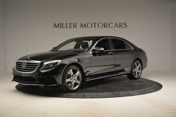 Used 2014 Mercedes Benz S-Class S 63 AMG for sale Sold at Rolls-Royce Motor Cars Greenwich in Greenwich CT 06830 2