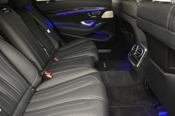 Used 2014 Mercedes Benz S-Class S 63 AMG for sale Sold at Rolls-Royce Motor Cars Greenwich in Greenwich CT 06830 27