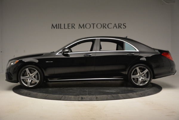 Used 2014 Mercedes Benz S-Class S 63 AMG for sale Sold at Rolls-Royce Motor Cars Greenwich in Greenwich CT 06830 3