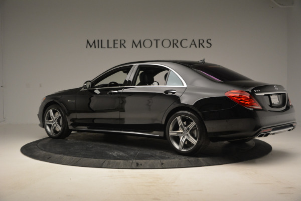 Used 2014 Mercedes Benz S-Class S 63 AMG for sale Sold at Rolls-Royce Motor Cars Greenwich in Greenwich CT 06830 4