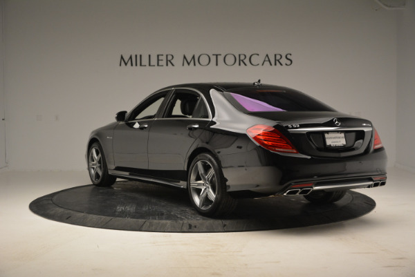 Used 2014 Mercedes Benz S-Class S 63 AMG for sale Sold at Rolls-Royce Motor Cars Greenwich in Greenwich CT 06830 5