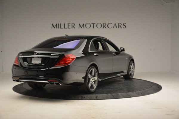 Used 2014 Mercedes Benz S-Class S 63 AMG for sale Sold at Rolls-Royce Motor Cars Greenwich in Greenwich CT 06830 7