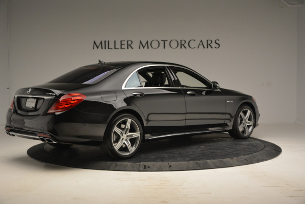 Used 2014 Mercedes Benz S-Class S 63 AMG for sale Sold at Rolls-Royce Motor Cars Greenwich in Greenwich CT 06830 8