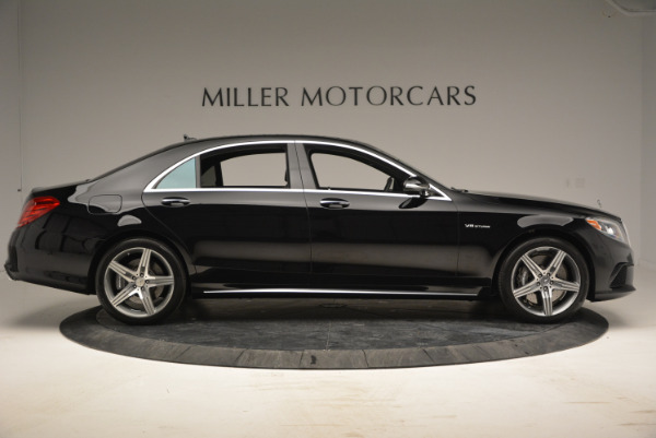 Used 2014 Mercedes Benz S-Class S 63 AMG for sale Sold at Rolls-Royce Motor Cars Greenwich in Greenwich CT 06830 9