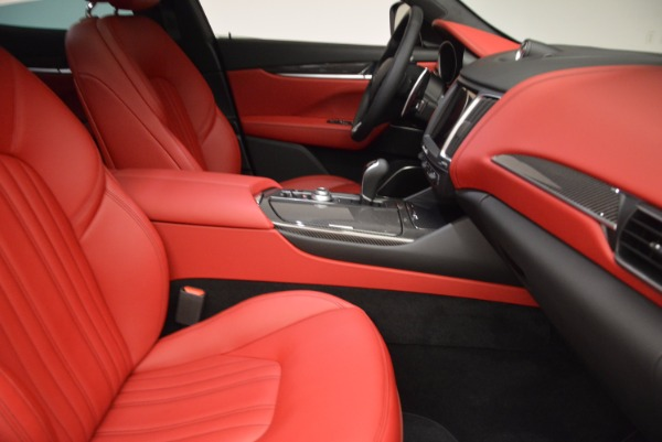 New 2017 Maserati Levante S for sale Sold at Rolls-Royce Motor Cars Greenwich in Greenwich CT 06830 17