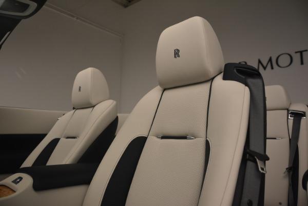 Used 2017 Rolls-Royce Dawn for sale $245,900 at Rolls-Royce Motor Cars Greenwich in Greenwich CT 06830 27