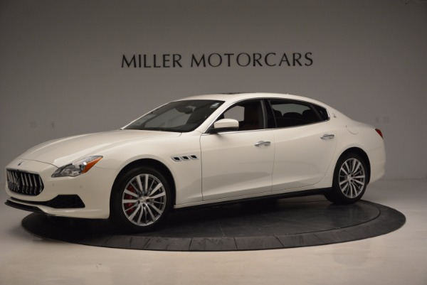 New 2017 Maserati Quattroporte SQ4 for sale Sold at Rolls-Royce Motor Cars Greenwich in Greenwich CT 06830 2
