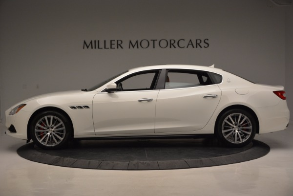 New 2017 Maserati Quattroporte SQ4 for sale Sold at Rolls-Royce Motor Cars Greenwich in Greenwich CT 06830 3