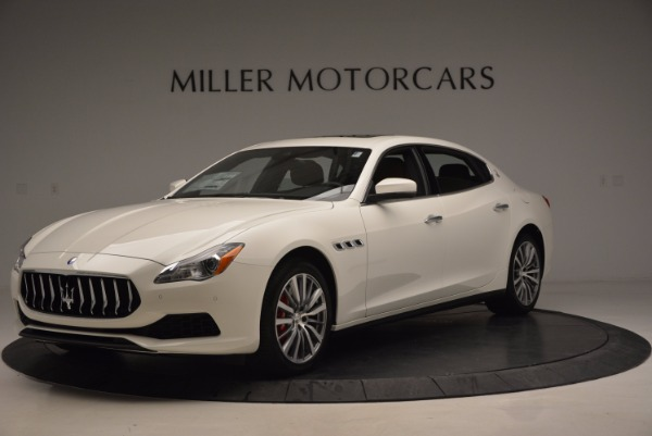 New 2017 Maserati Quattroporte SQ4 for sale Sold at Rolls-Royce Motor Cars Greenwich in Greenwich CT 06830 1