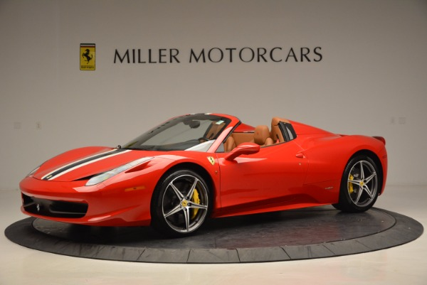 Used 2014 Ferrari 458 Spider for sale Sold at Rolls-Royce Motor Cars Greenwich in Greenwich CT 06830 2