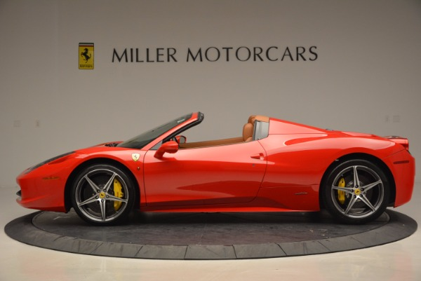 Used 2014 Ferrari 458 Spider for sale Sold at Rolls-Royce Motor Cars Greenwich in Greenwich CT 06830 3