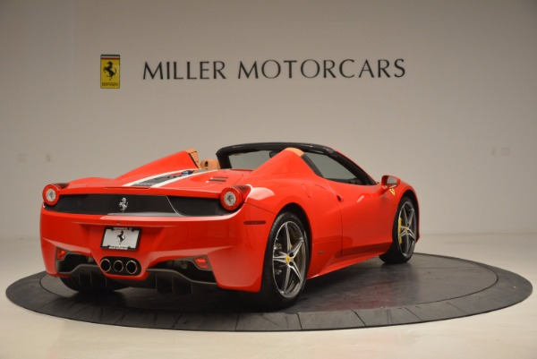 Used 2014 Ferrari 458 Spider for sale Sold at Rolls-Royce Motor Cars Greenwich in Greenwich CT 06830 7