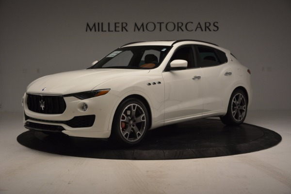 Used 2017 Maserati Levante Q4 for sale Sold at Rolls-Royce Motor Cars Greenwich in Greenwich CT 06830 2