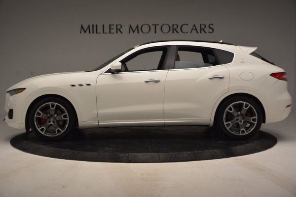 Used 2017 Maserati Levante Q4 for sale Sold at Rolls-Royce Motor Cars Greenwich in Greenwich CT 06830 3