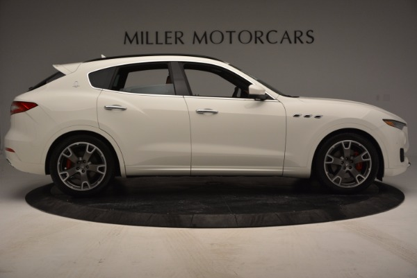 Used 2017 Maserati Levante Q4 for sale Sold at Rolls-Royce Motor Cars Greenwich in Greenwich CT 06830 9