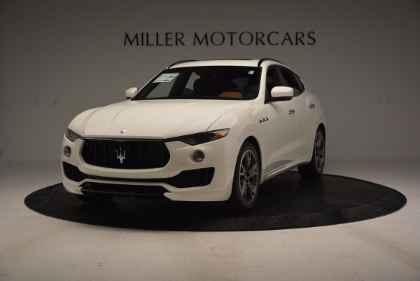 Used 2017 Maserati Levante Q4 for sale Sold at Rolls-Royce Motor Cars Greenwich in Greenwich CT 06830 1